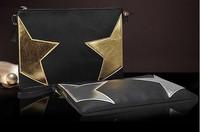 Free Shipping Stars Women Messenger Bag Woman Handbags Fashion 2014 Designers Bolsas Femininas Fur Evening Sac Christmas Gift