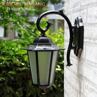 3W 5W Fashion outdoor wall lamp garden lights vintage balcony bronze full waterproof wall lights