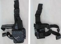 Tactical Puttee Thigh Leg Pistol Gun Holster Pouch New military 800D Nylon pistol holster