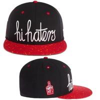Cayler & Sons hats hi haters black red & black purple snapback Caps hiphop adjustable caps Freeshipping