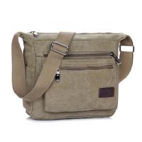 New Korean men's casual outdoor sports canvas shoulder bag Messenger bag fashion bags