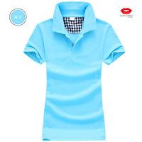 The new women's short-sleeved cotton shirt body repair / (+) supplier / distributor