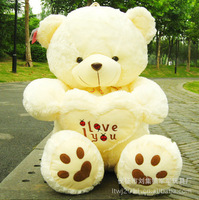 Hot 70CM Giant Huge Big Soft Plush White Teddy Bear Halloween Christmas Gift Valentine's Day Gifts