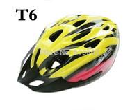 Cycling Bicycle  Bike Safe Helmet yellow  color racking bike