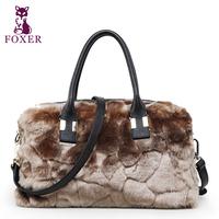 FOXER new 2014 women leather handbags 100% genuine leather totes designer handbags high quality shoulder bags vintage brand bag