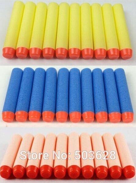 "100pcsx 2.56"" Toy Gun Bullet Darts Round Head For Hasbro Children NERF N-Strike(China (Mainland))"