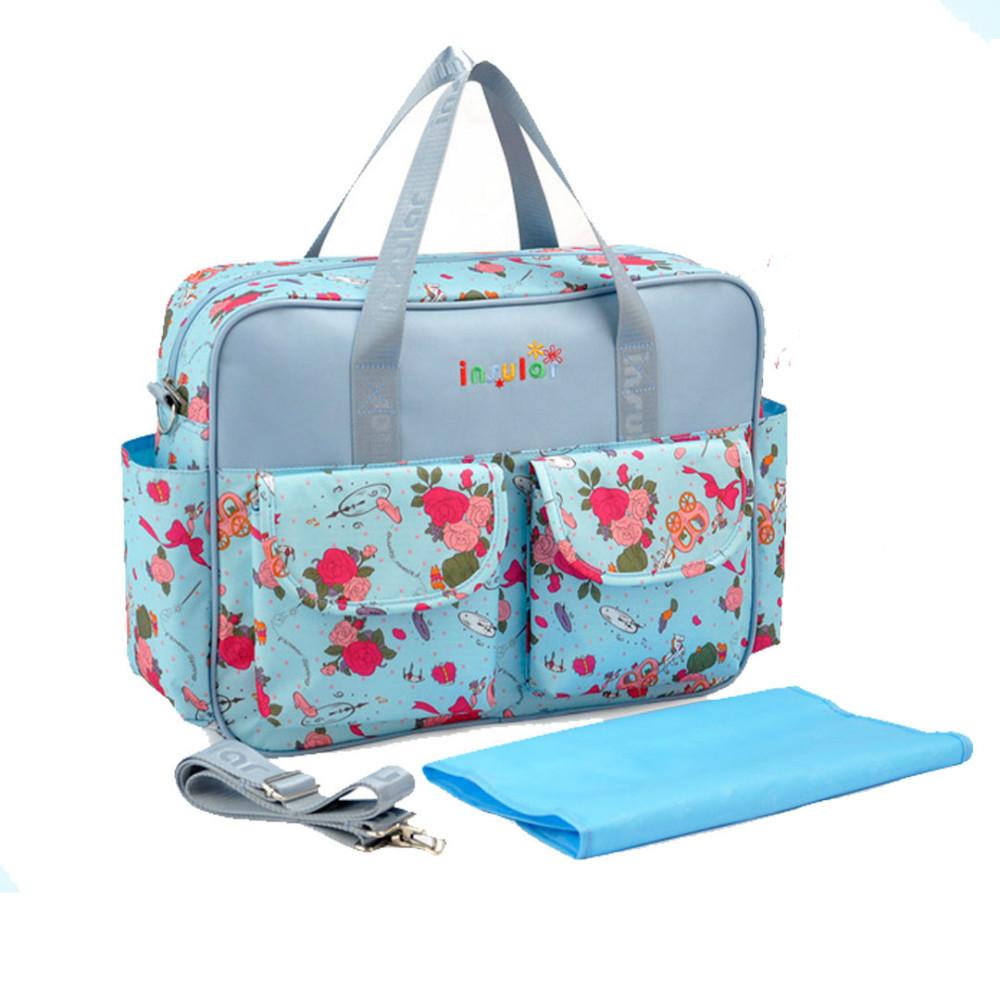 DIAPER BAG Fashion Bags Canvas shoulder bags Fabric handbags shopping bag(China (Mainland))