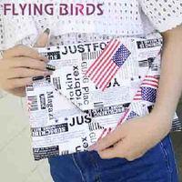 FLYING BIRDS! free shipping striped women clutch pu leather  Women shoulder messenger bags evening bag  LS3756c