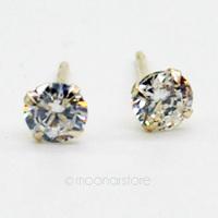 Fashion 925 Sterling Silver Crystal Ear Stud Earring, Delicate Rhinestone Studs Earrings Earing Fashion Jewelry Y50 MPJ274