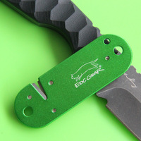 Super Hard Tungsten Steel Sterling Compact Knife Sharpener, V sharpening insert,W/ lanyard hole,Pocket Size, free Shipping