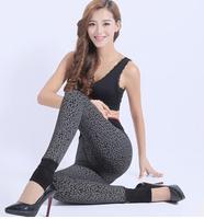 2014 Free Shipping Women Skinny Slim high density chinlon Autumn And Winter Thick Leggings Lady Fashion High Waist Fashion Pants