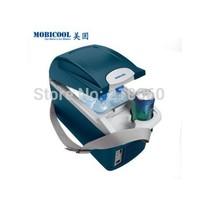 EMS/Fedexshipping MOBICOOL T08 automotive refrigerator car 8L mini fridge portable temperature box 12V car armrest refrigerators