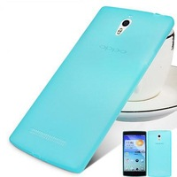 New Arrival Silicon Case For OPPO Find 7 Ultra Thin Protective Back Case Matte Cover For Oppo Find 7 Free Shipping