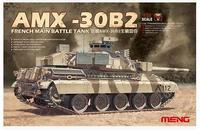 Meng model TS-013 1/35 AMK-30B2 FRENCH MAIN BATTLE TANK plastic model kit