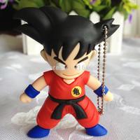 EH015-8GB Fashion Hot Cartoon Goku WuKong 4GB 8GB 16GB 32GB 64GB USB Flash 2.0 Memory Drive Stick Free Shipping