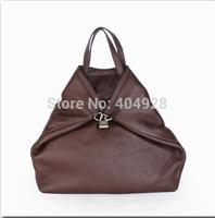 346297 2014  new  fashion women design genuine leather shoulder  handbag top quality wholesale
