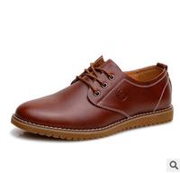 New Fashion Men's shoes PU patent leather Lace-ups black dress shoes Business Leather Shoes Oxfords