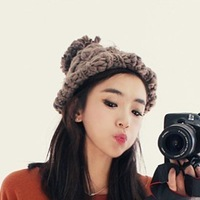 2014 New Fashion Cap Winter Hat Warm Beanie for Women Causal Knitted Hats All-match 5 colors