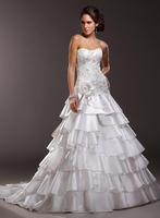 Charming A-line formal wedding dress A3552