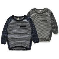 Free shipping 2014 autumn polka dot baby child clothing boys long-sleeve T-shirt tx-4170 basic shirt