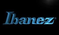 LL164- Ibanez Guitars Bass Band Rock Neon Light Sign , , Wholesale  hang sign home decor shop crafts led sign
