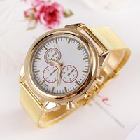 Watch Woman Fashion Quartz Watches Gold Exquisite Gift For Women Wristwatches Lady Famous Brand Analog Wristwatch