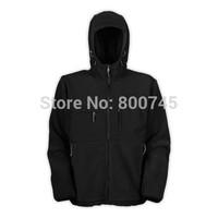 Free Shipping Men's Denali Fleece Hooded Jacket Fashion Denali Fleece Jacket Outdoor Casual Windproof Warm Down Jacket Outerwear
