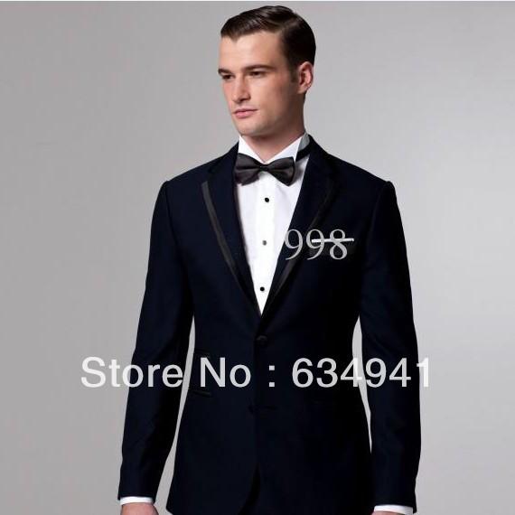 Best Selling Italian Men S Dress Custom Style Party Night Men Suit Western Style Wedding Navy