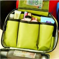 The large capacity travel waterproof toiletry bags cosmetic bag
