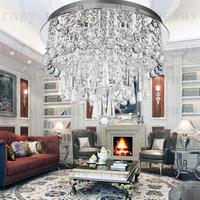 free shipping gu10 K8  crysta  High quality modern luxury crystal ceiling light  LED crystal lamp modern minimalist