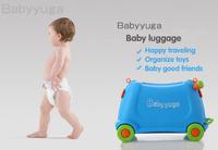 Free shipping Kids Travel School Trolley wheel Luggage Children Suitcase Toys Storage bag