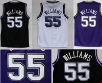 Free Shipping S-2XL Sacramento 55 Jason Williams Jerseys, Cheap Basketball Jersey Jason Williams New Rev 30 Embroidery Logo