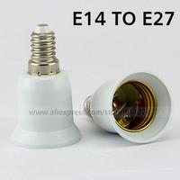 E14 to E27 Base LED Light Lamp Bulb Adapter Converter Screw Socket
