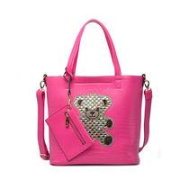 2014 Europe and America style women handbag  fashion PIP package shoulder bag messenger bag Diamond Bear gz-klu051 free shipping