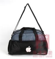 Fitness man's travel bag sports bag printing logo gym travel bag handbag shoulder bag man 2014 fashion