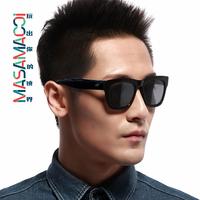 Black oversized sunglasses male sunglasses male Women vintage sunglasses