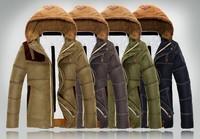 NEW Free shipping Men's down parka coat men down jacket Winter Casual outdoor coat