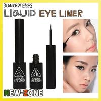 Brand Makeup 3CE Liquid Eyeliner Black LIQUID EYE LINER Long Lasting Waterproof Free Shipping