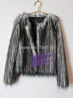 Long-sleeve short design 2014 female fur coat