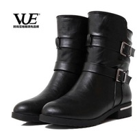 Sales promotion! New 2014 hot big size big yards of shoes autumn boots fashion popular female fashion short boots free  shopping
