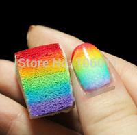 240 PCS Nail Tools Gradient sponge Nail Design Colorful DIY Free Shipping Tools Nail Gradient