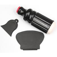 100 sets/lot fast shipping Black Fashion New Pro DIY Nail Stamping Tool Stamper Scraper Knife Set Nail Art