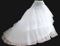 Free Shipping in stock 3 hoops mermaid petticoat crinoline for mermaid wedding dress slip good quality and Cheap