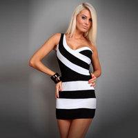 2014 women's club dress nightclub shoulder halter dress Slim package hip nightclub sexy tight dresses RS-169