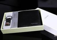 Men Luxury Purse/Wallet with Key Chain ---- Men International Brand Wallet