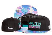 2014 Hot Sale fashion CAYLER & SONS south beach Snapback hats womens mens baseball caps hip-hop caps Free Shipping