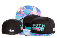2014 Hot Sale fashion CAYLER & SONS south beach Snapback hats womens mens baseball caps hip-hop caps Free Shipping