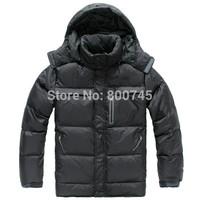 Free Shipping 2014 Men Down Jacket Winter Down Parkas Male Overcoat Men Winter Outdoor Sports Jacket M-XXL