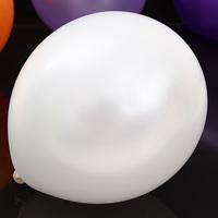 "12 ""3.2 g round pearl latex balloons White balloons 50pieces/lot birthday balloon free shipping balloons"