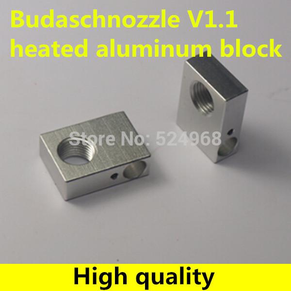 Запчасти для принтера Roren 3D Reprap Budaschnozzle v1.1 M10 * 1 Joren-aluminium heat block запчасти для мотоциклов yamaha 100 100 5wb5wy100
